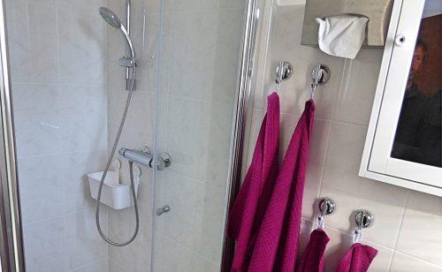Ferienhaus Höhenflug - Dusche